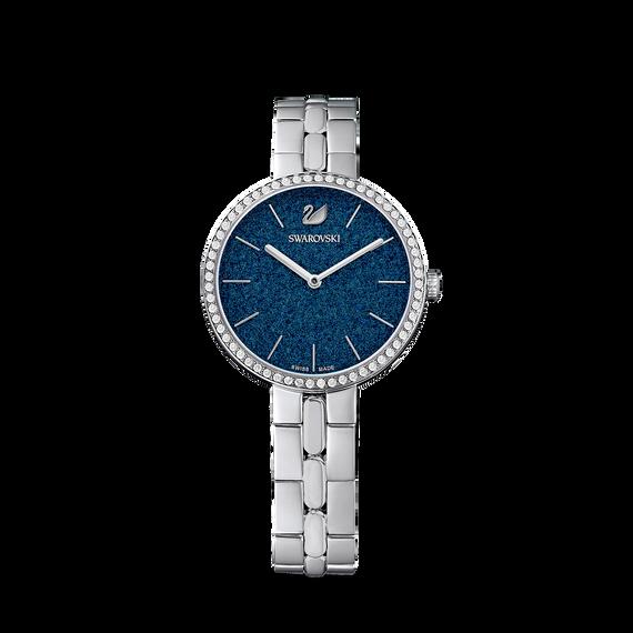 ساعة Cosmopolitan، بسوار معدني أزرق، مصنوع من إستانليس ستيل