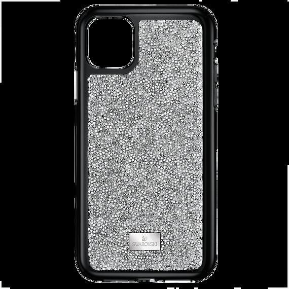 غطاء هاتف ذكي Glam Rock بمصد مدمج،  iPhone® 11 Pro، باللون الفضي
