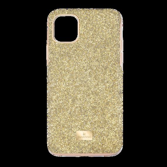 حافظة High للهاتف الذكي بحواف مضادة للصدمات، iPhone® 11 Pro Max، لون ذهبي