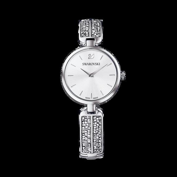 ساعة Dream Rock بسوار معدني فضي اللون، مصنوعة من الاستانليس ستيل