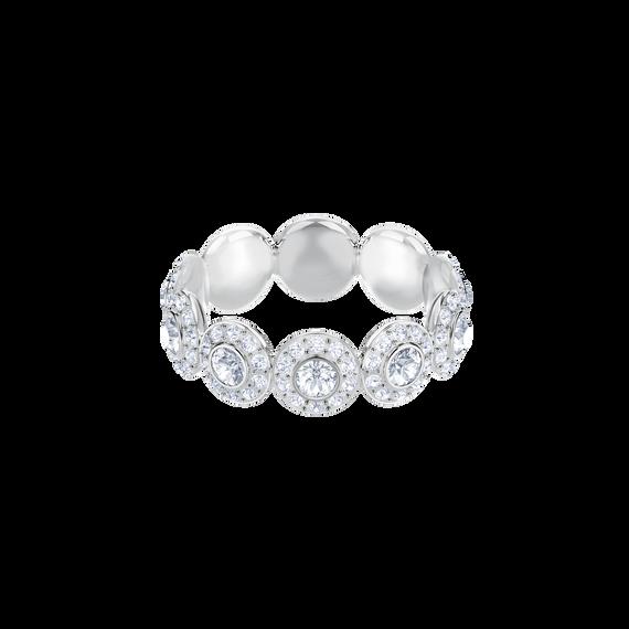 خاتم Angelic، أبيض، بطلاء من الروديوم