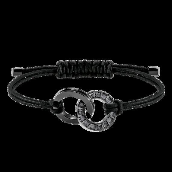 Alto Bracelet, Grey, Stainless steel