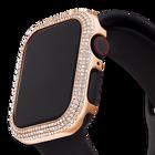 حافظة 40 مم برّاقة متوافقة مع ساعة ®Apple، لون ذهبي وردي