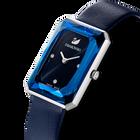 ساعة Uptown، حزام جلد، لون أزرق، ستانلس ستيل