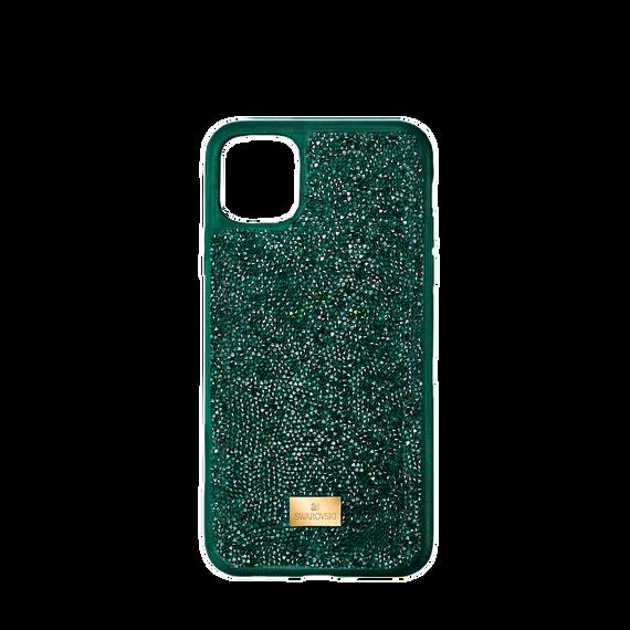 حافظة Glam Rock للهاتف الذكي، iPhone® 12 mini، لون أخضر