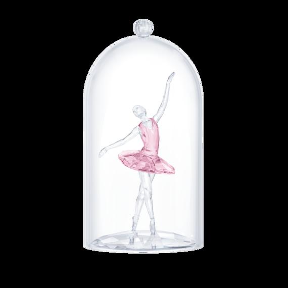 قطعة زينة على شكل راقصة باليه محاطة بناقوس