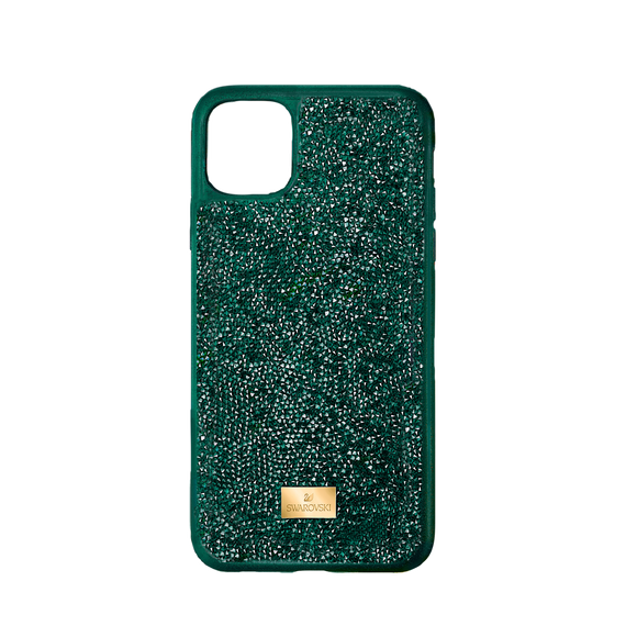 Glam Rock Smartphone Case, iPhone® 12/12 Pro, Green