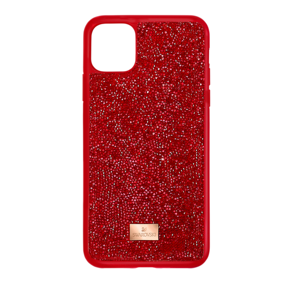 Glam Rock Smartphone Case, iPhone® 12 Pro Max, Red