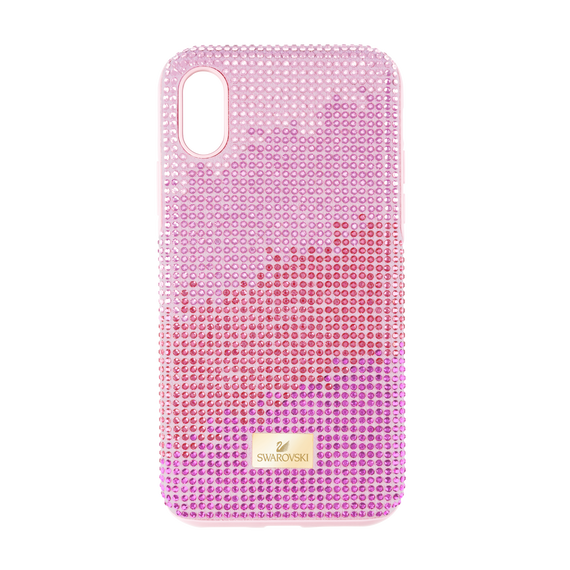 غطاء هاتف ذكي High Love بمصد، iPhone® X/XS ، وردي