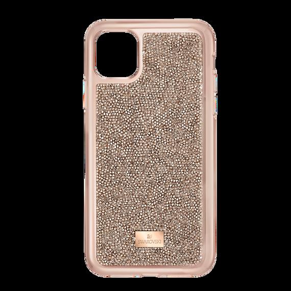 غطاء هاتف ذكي Glam Rock بمصد مدمج،  iPhone® 11 Pro، باللون الذهبي