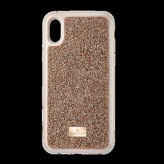 غطاء Glam Rock للهواتف الذكية ، iPhone® X / XS ، وردي ذهبي