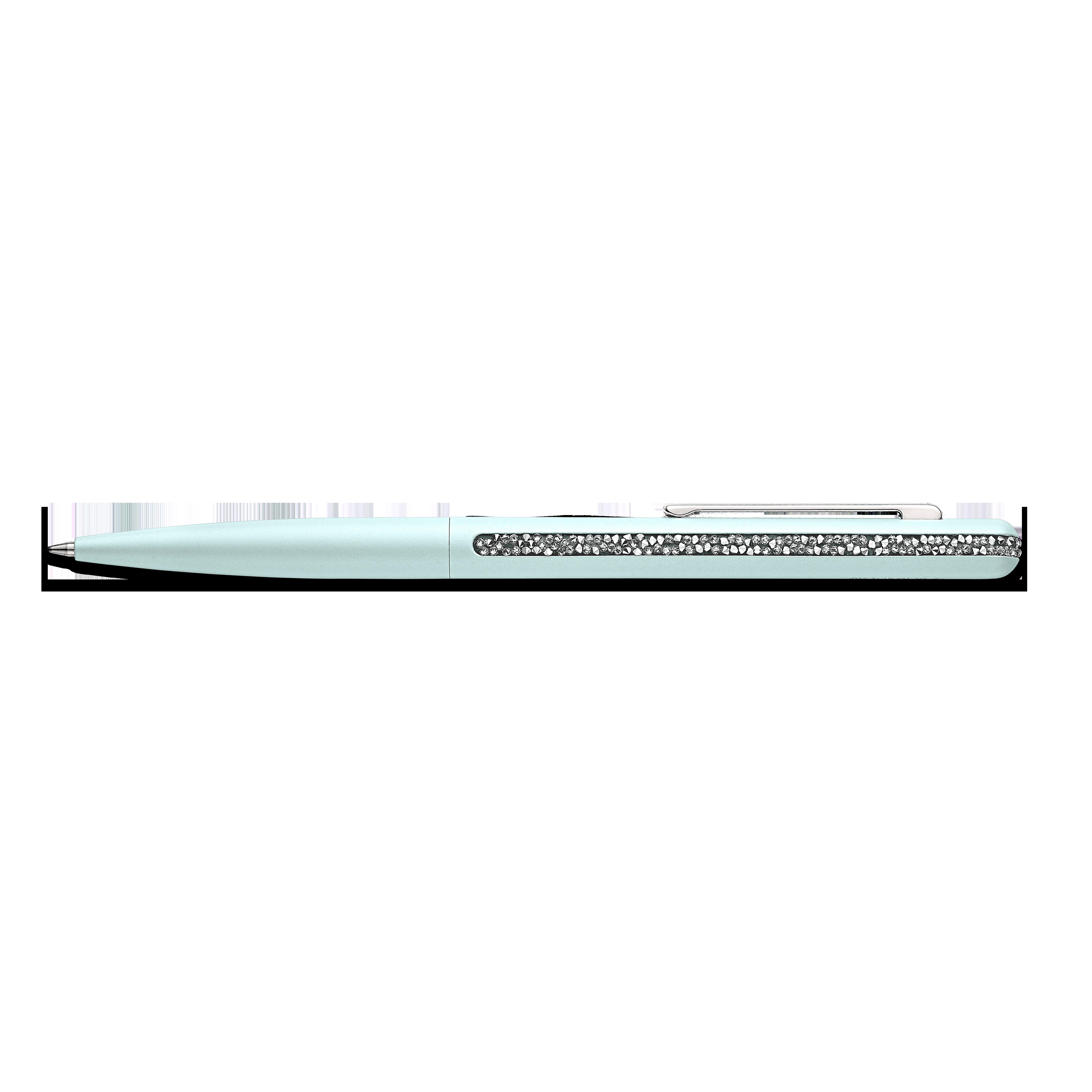 قلم حبر جاف Crystal Shimmer، لون أخضر فاتح، طلاء كروم